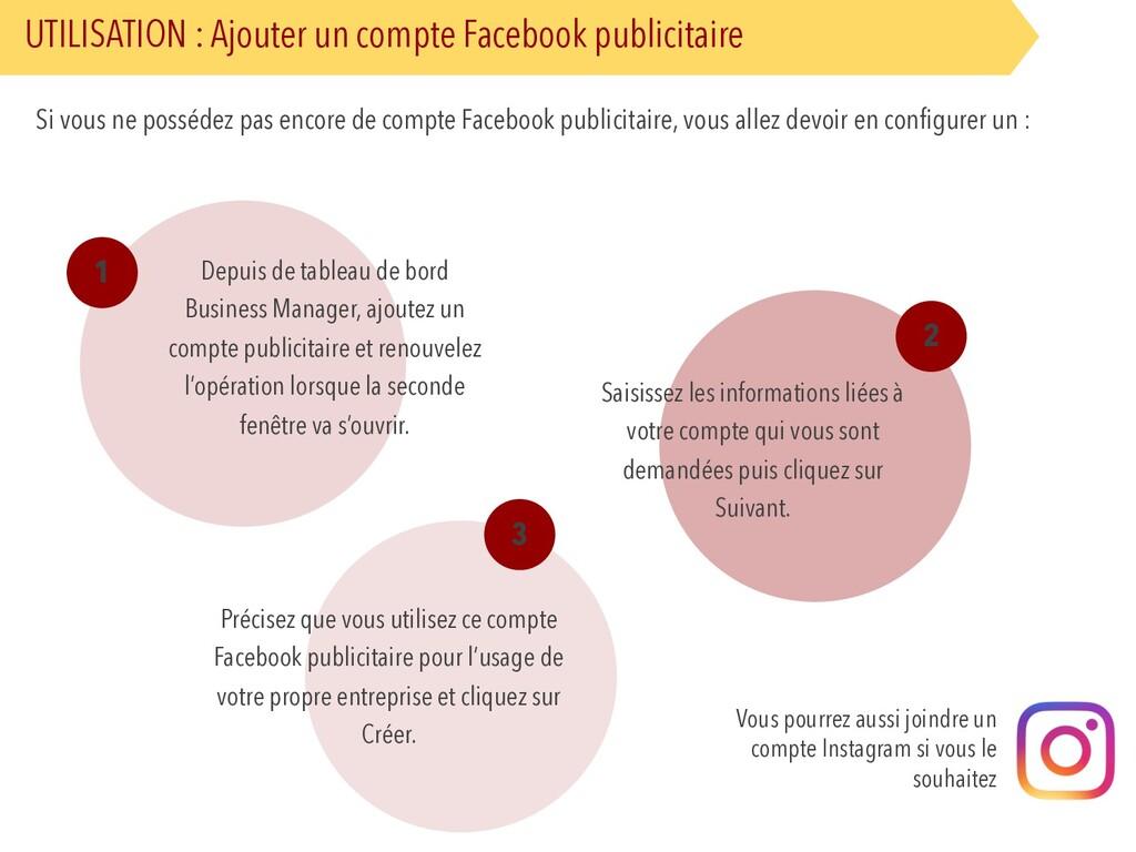 UTILISATION : Ajouter un compte Facebook public...