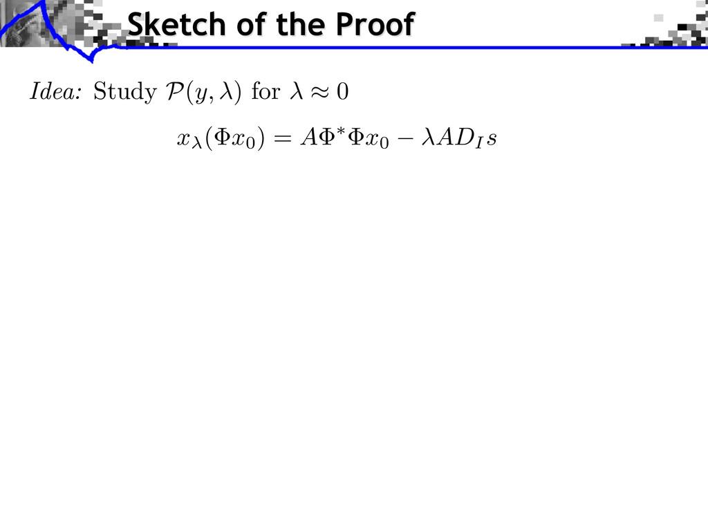 x ( x0) = A ⇤ x0 ADI s Idea: Study P ( y, ) for...