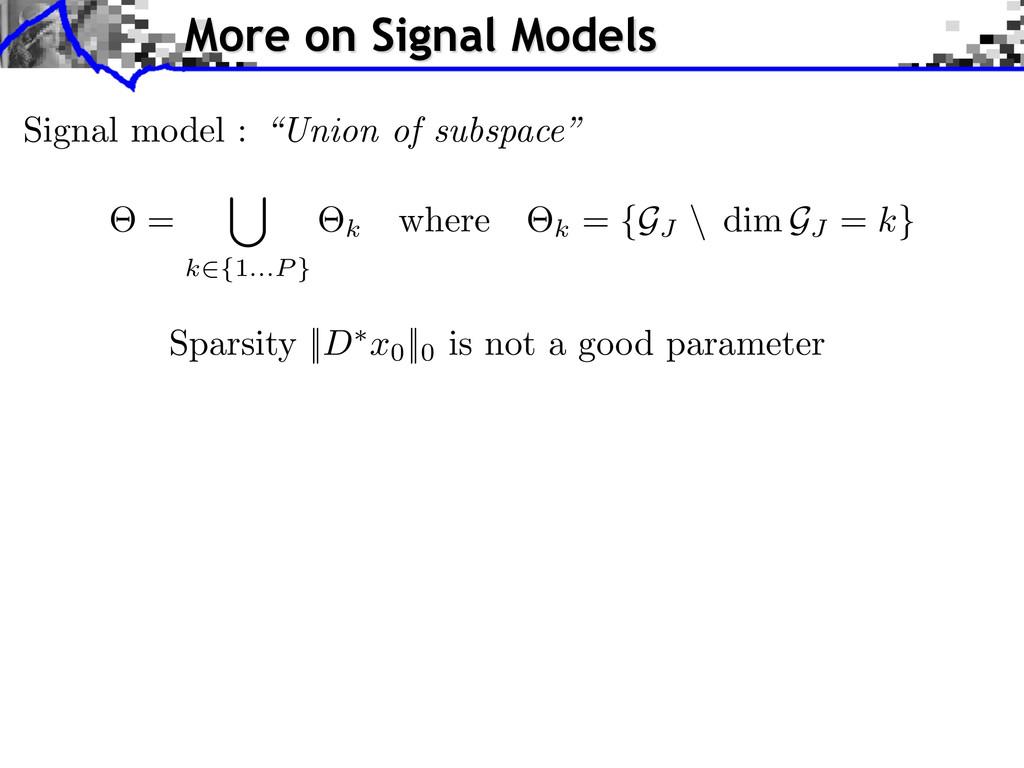 Sparsity || D ⇤ x0 ||0 is not a good parameter ...