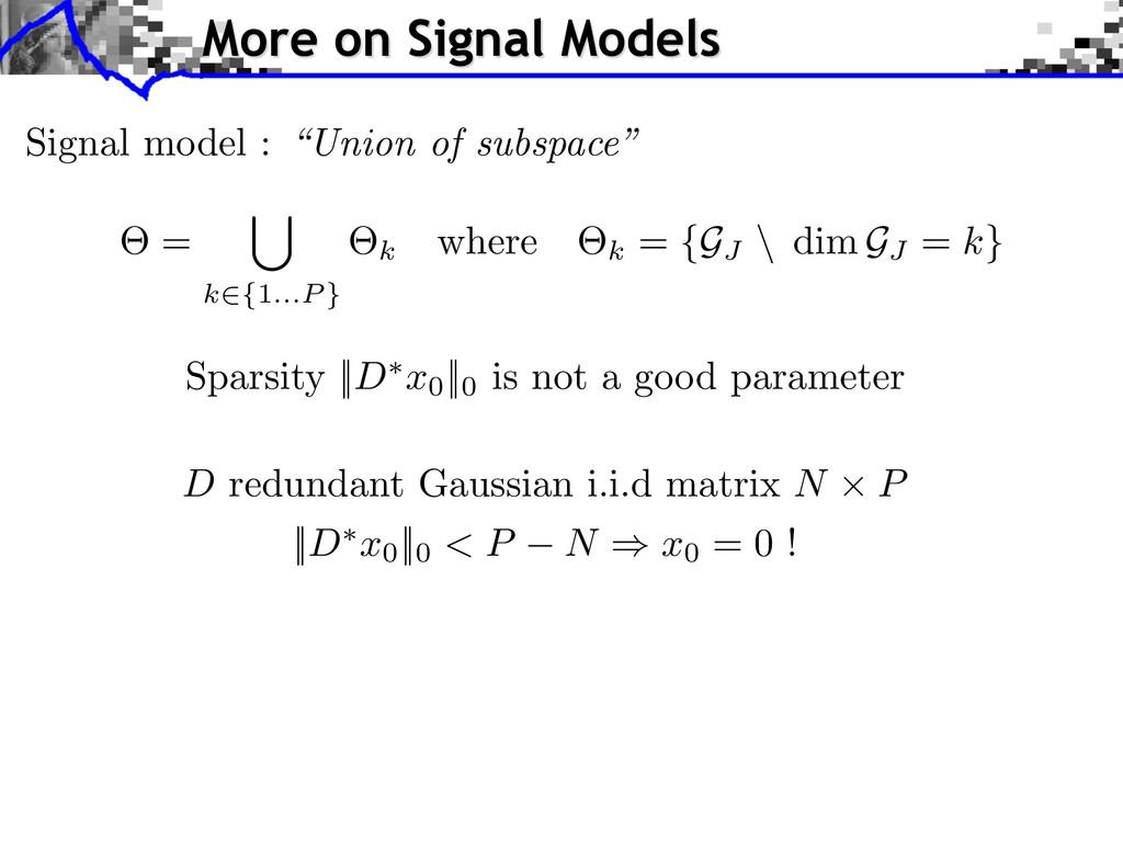 D redundant Gaussian i.i.d matrix N ⇥ P || D ⇤ ...