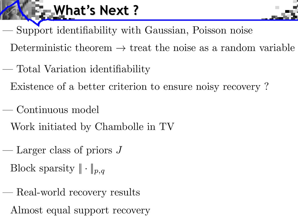 — Total Variation identifiability Existence of a...