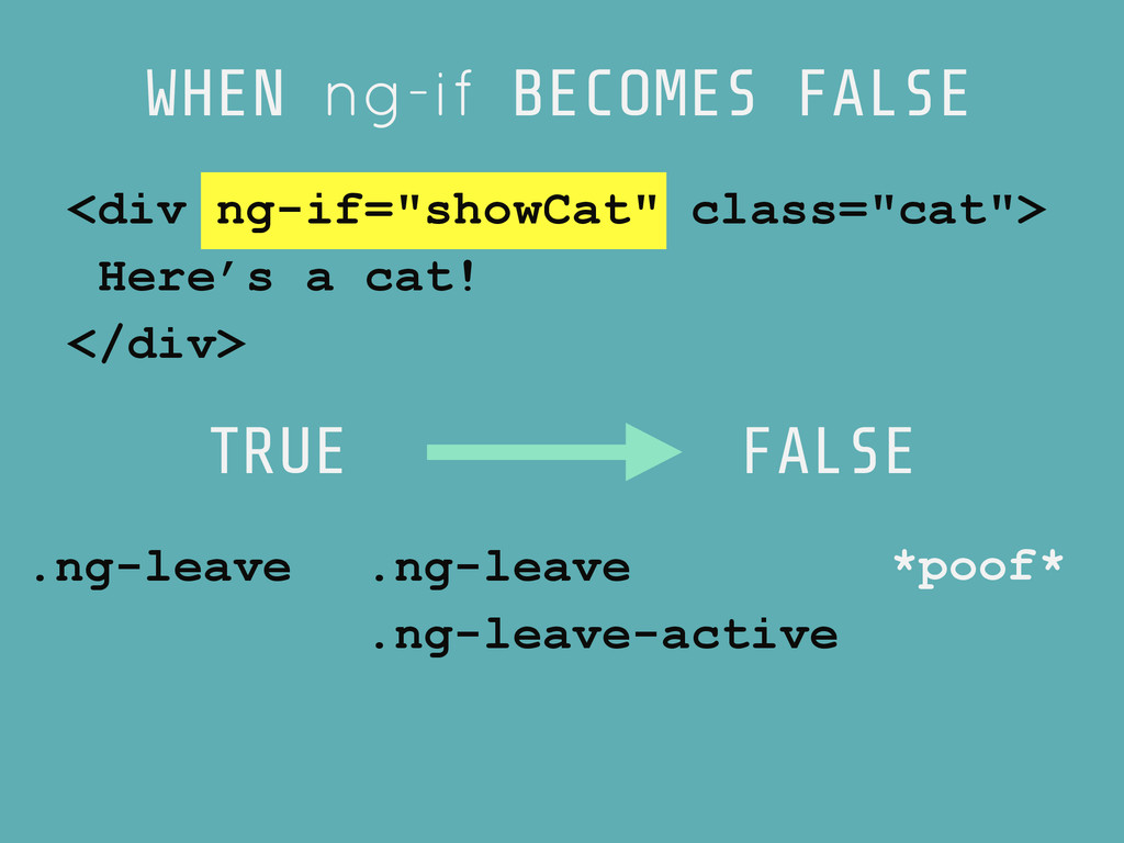TRUE FALSE .ng-leave .ng-leave .ng-leave-active...