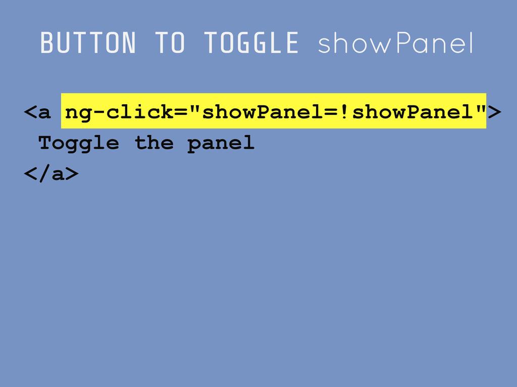 "BUTTON TO TOGGLE showPanel <a ng-click=""showPan..."