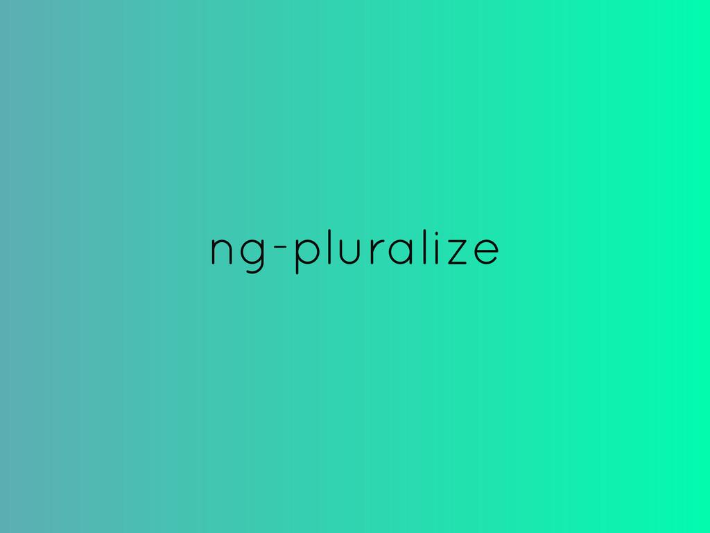 ng-pluralize