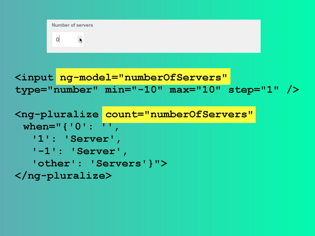 """<input ng-model=""""numberOfServers"""" type=""""number""""..."""