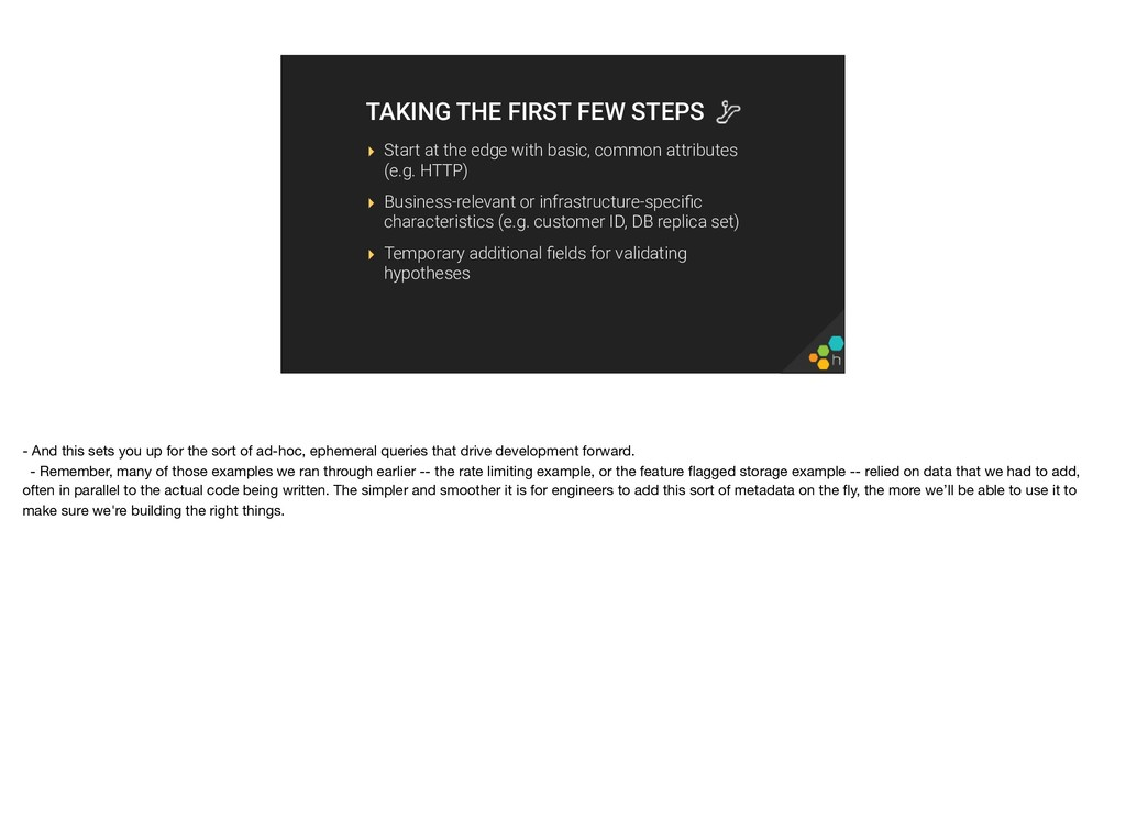 TAKING THE FIRST FEW STEPS ▸ Start at the edge ...