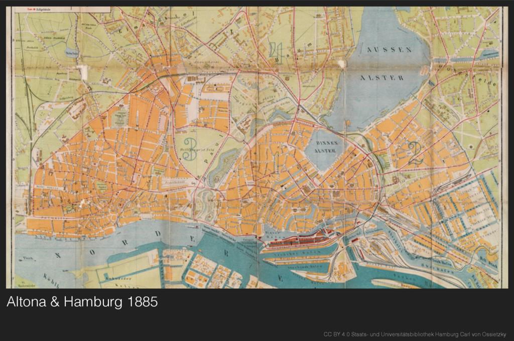 Altona & Hamburg 1885 CC BY 4.0 Staats- und Uni...