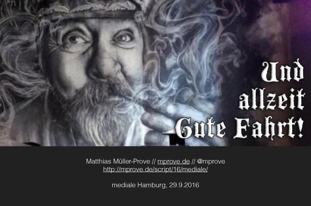 Matthias Müller-Prove // mprove.de // @mprove h...