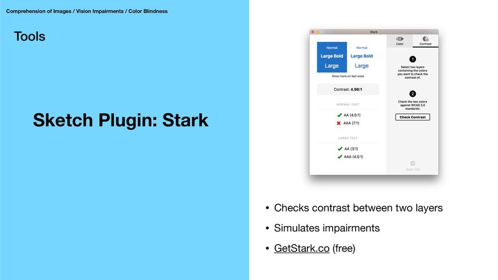 Tools Sketch Plugin: Stark Comprehension of Ima...