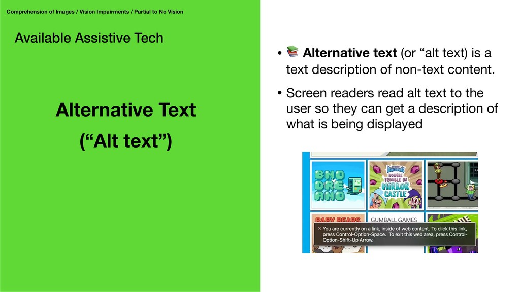 Available Assistive Tech Comprehension of Image...