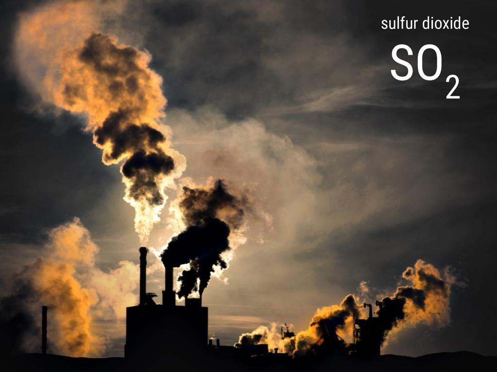 sulfur dioxide SO 2