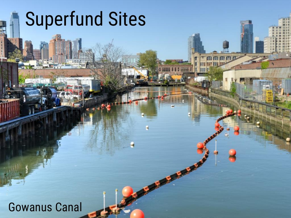 Superfund Sites Gowanus Canal