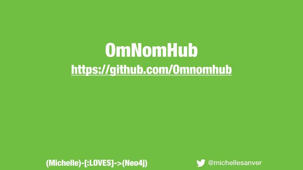 OmNomHub https://github.com/Omnomhub @michelles...