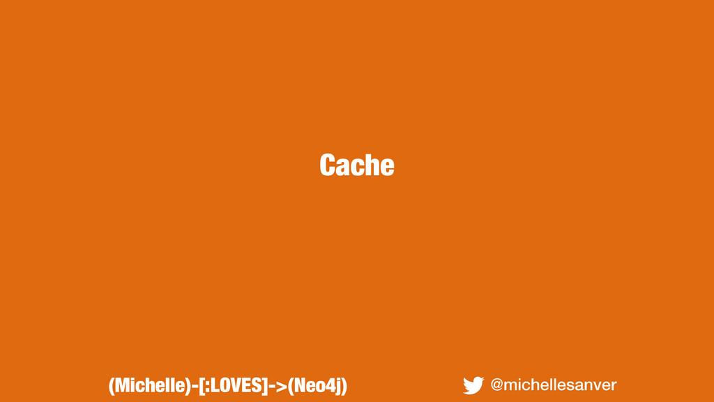 Cache @michellesanver (Michelle)-[:LOVES]->(Neo...