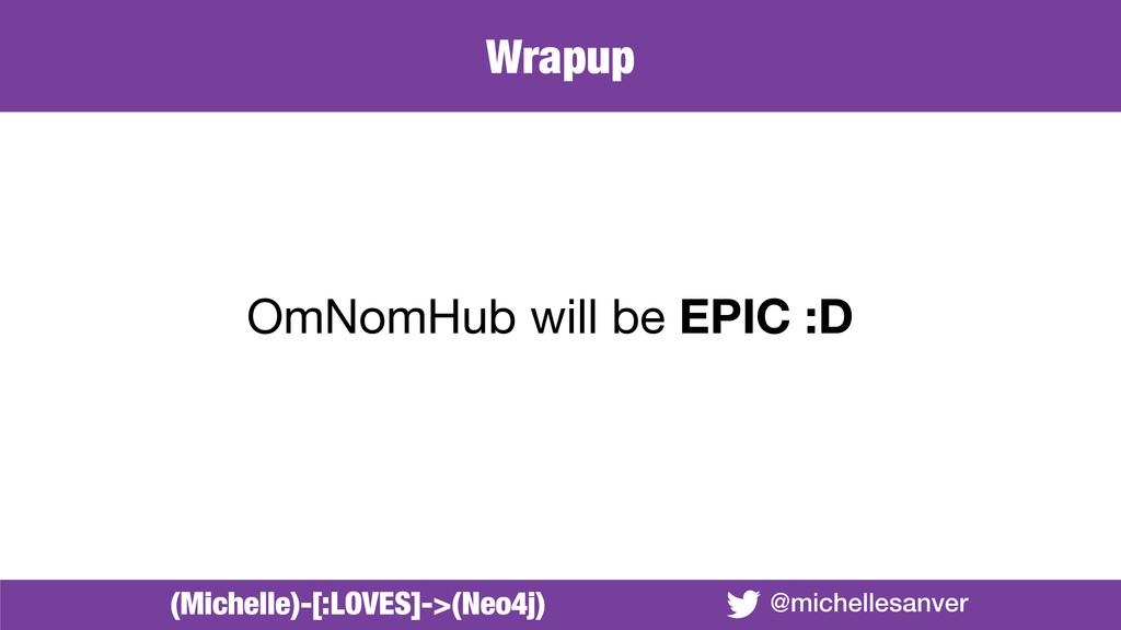 @michellesanver OmNomHub will be EPIC :D (Miche...