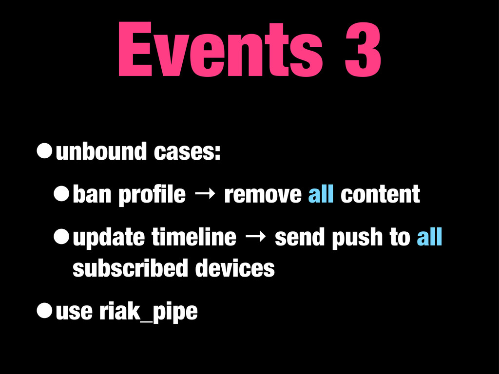 •unbound cases: •ban profile → remove all conten...
