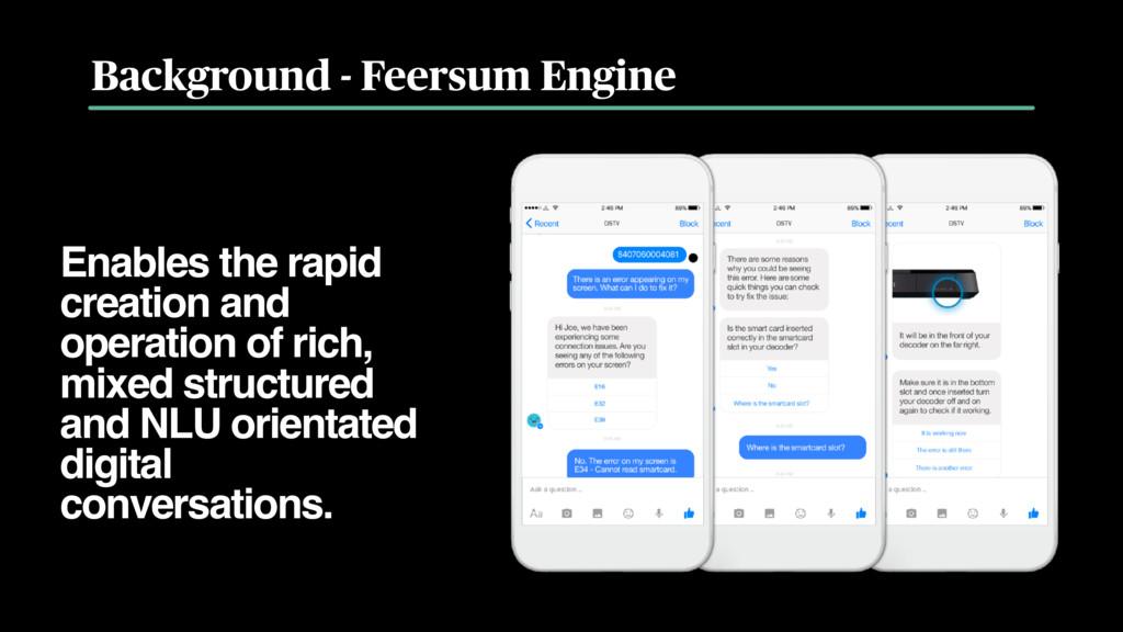 Background - Feersum Engine Enables the rapid c...