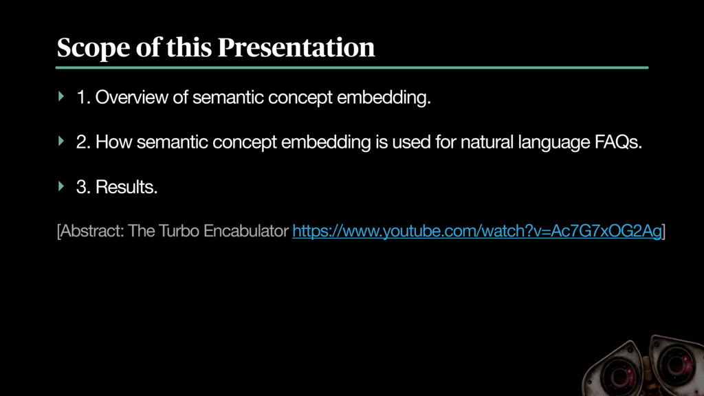 Scope of this Presentation ‣ 1. Overview of sem...