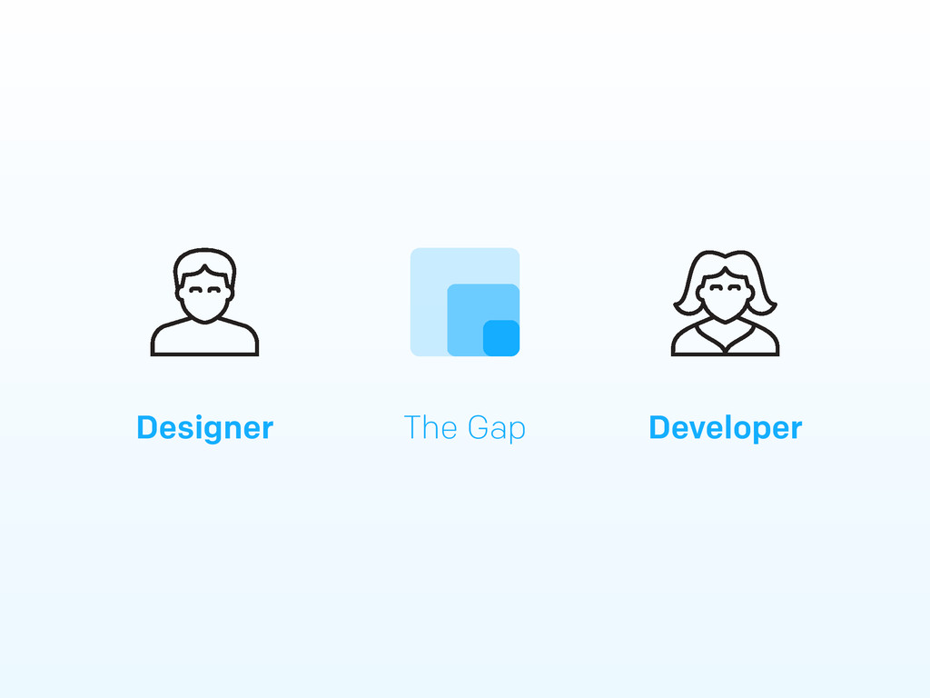 Designer Developer The Gap