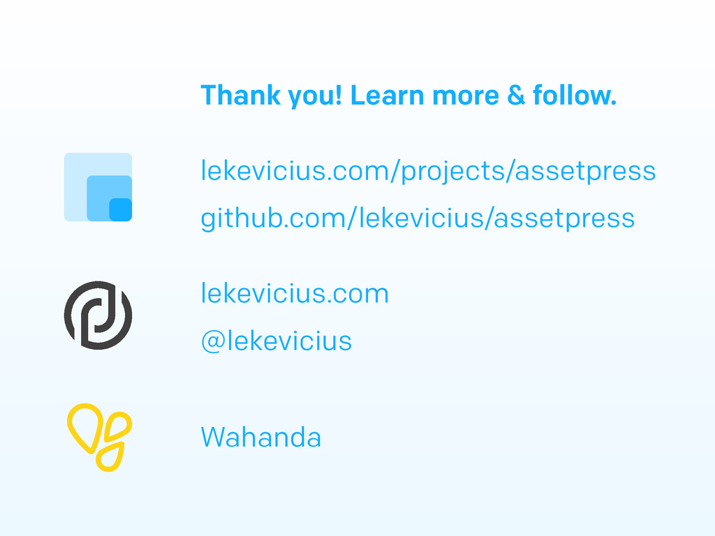 Thank you! Learn more & follow. lekevicius.com/...