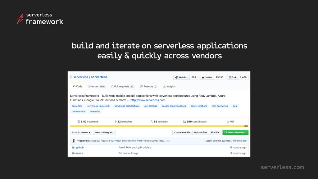 build and iterate on serverless applications ea...