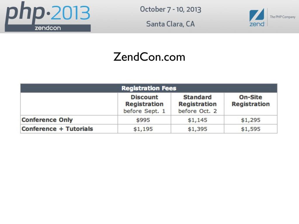 ZendCon.com