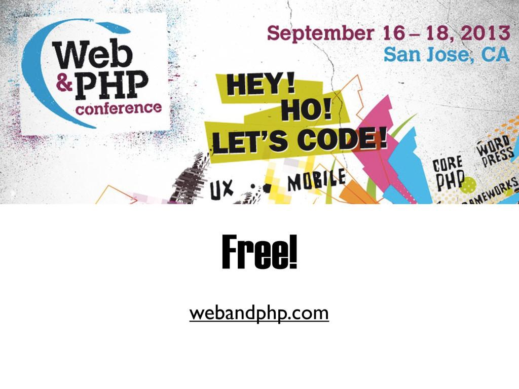 Free! webandphp.com