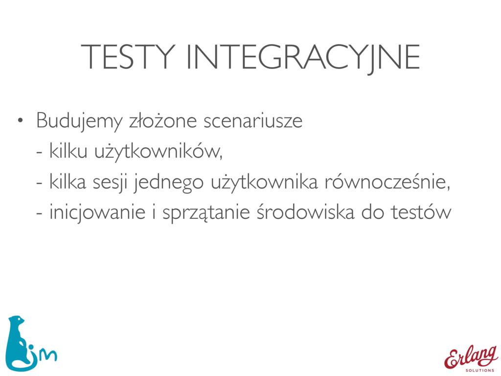TESTY INTEGRACYJNE • Budujemy złożone scenarius...