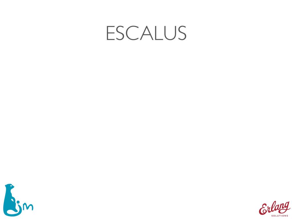 ESCALUS