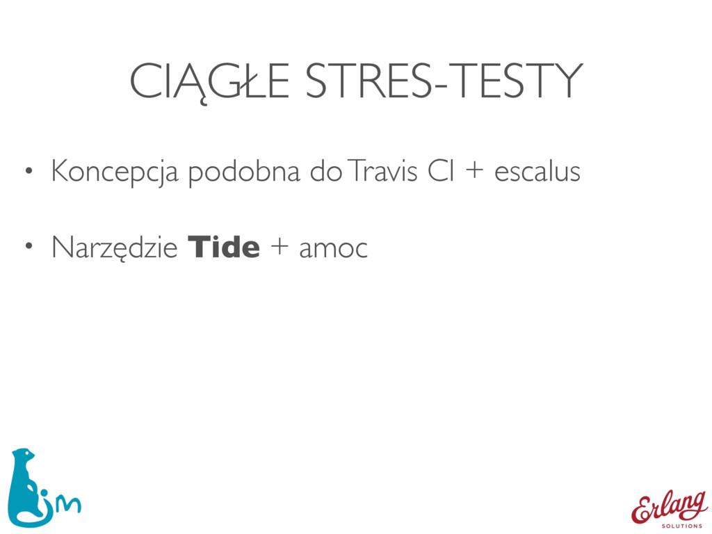 CIĄGŁE STRES-TESTY • Koncepcja podobna do Travi...