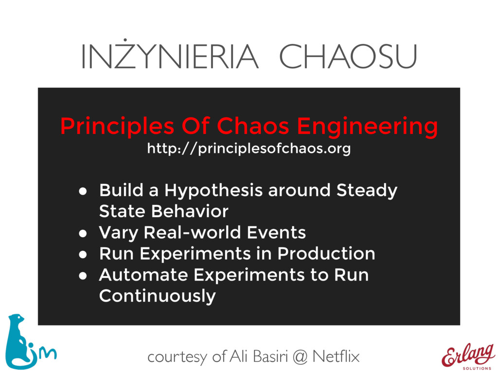INŻYNIERIA CHAOSU ● Build a Hypothesis around S...