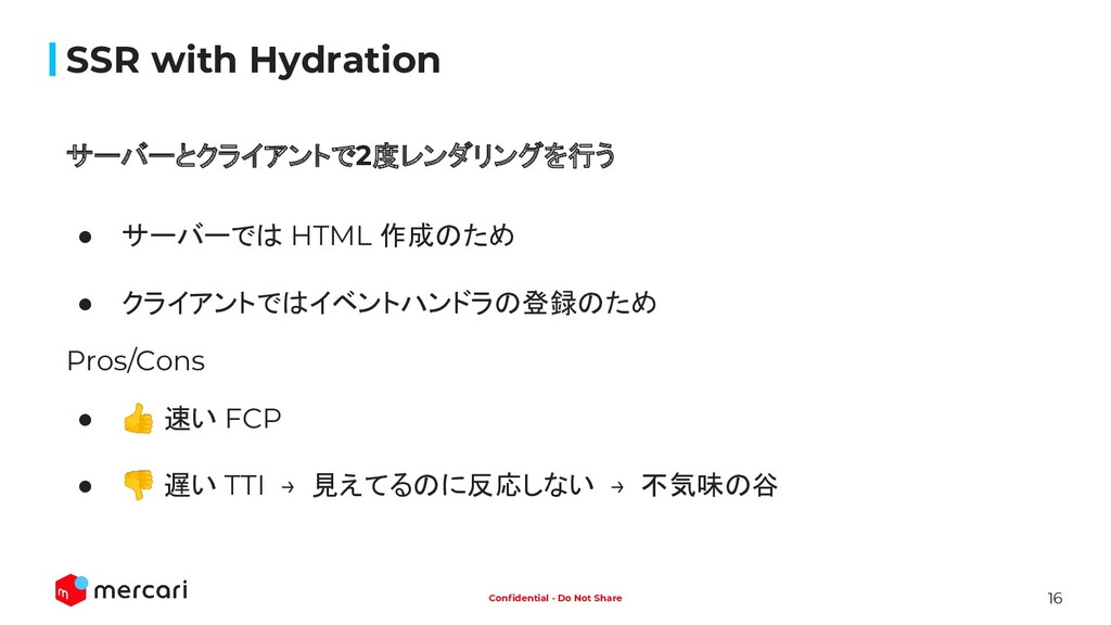 16 Confidential - Do Not Share SSR with Hydratio...
