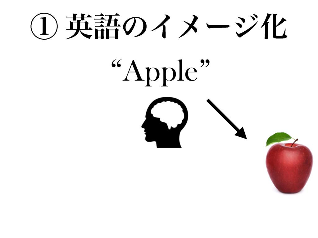 """""""Apple"""" ᶃ ӳޠͷΠϝʔδԽ"""