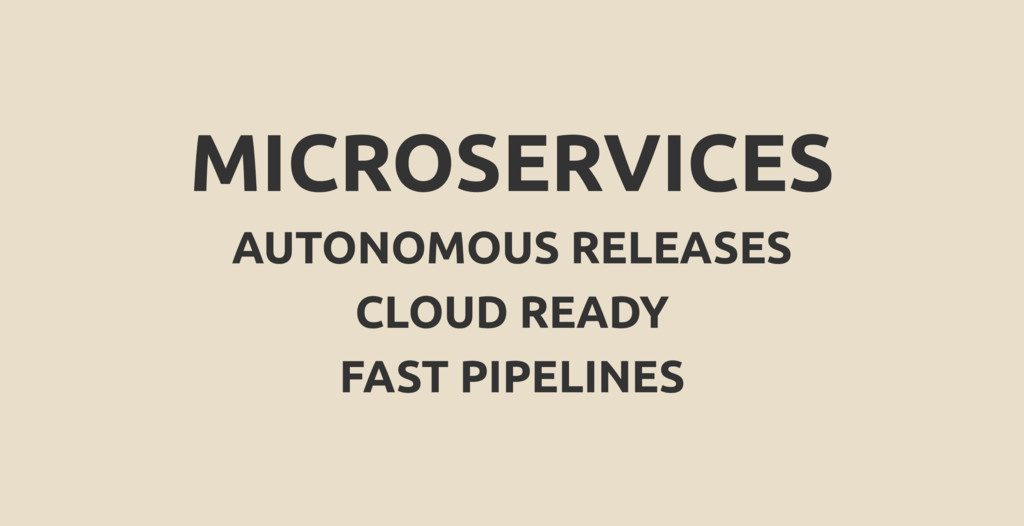 MICROSERVICES AUTONOMOUS RELEASES CLOUD READY F...