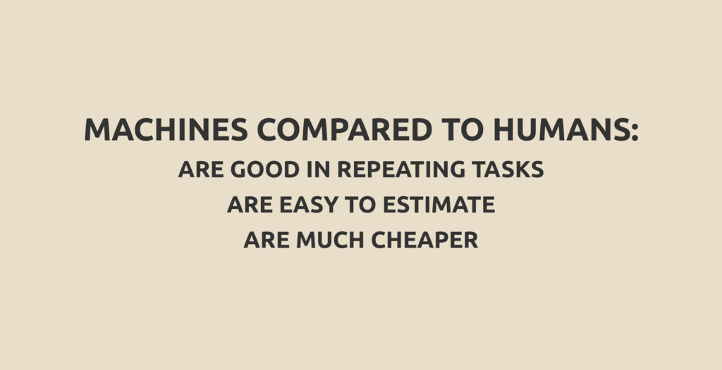 MACHINES COMPARED TO HUMANS: ARE GOOD IN REPEAT...