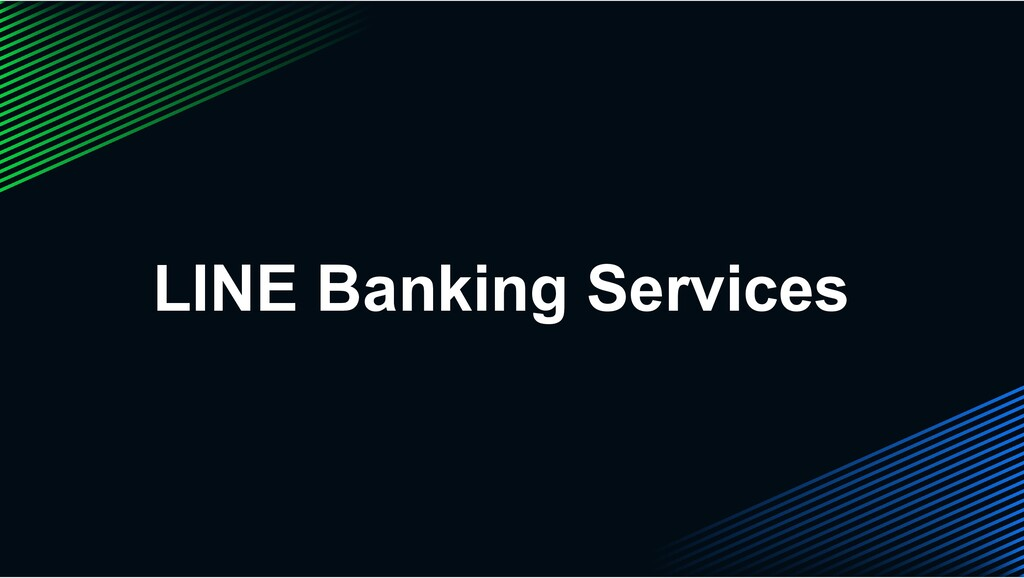 LINE Banking Services