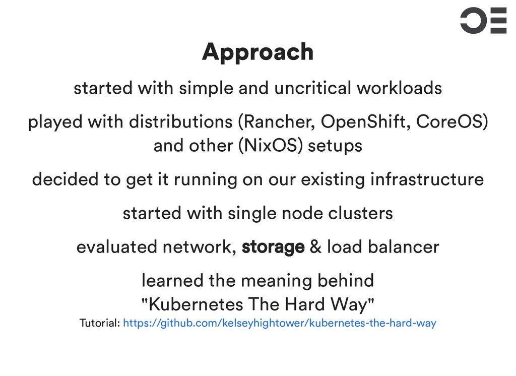 Approach Approach started with simple and uncri...