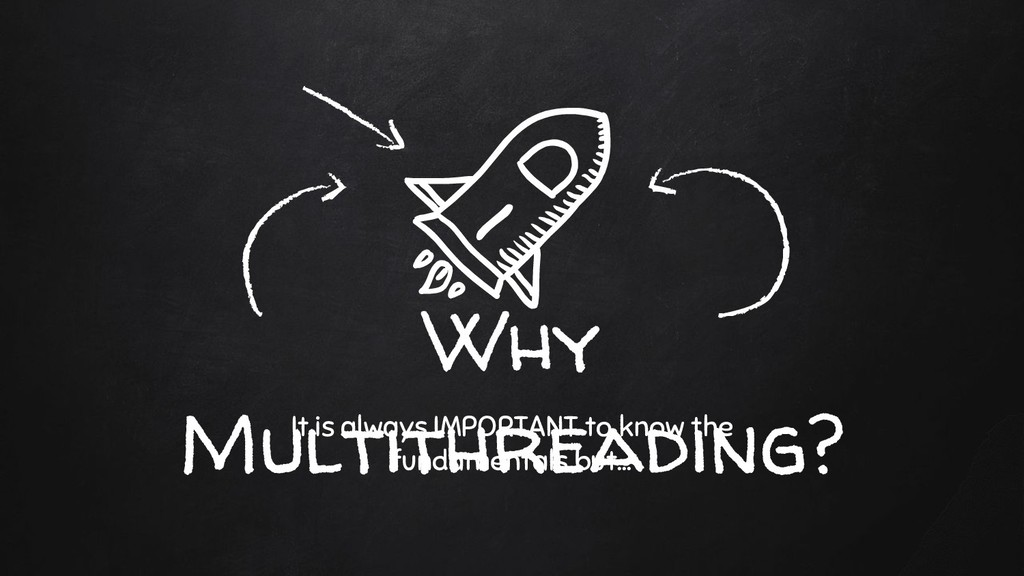 Why Multithreading? It is always IMPORTANT to k...