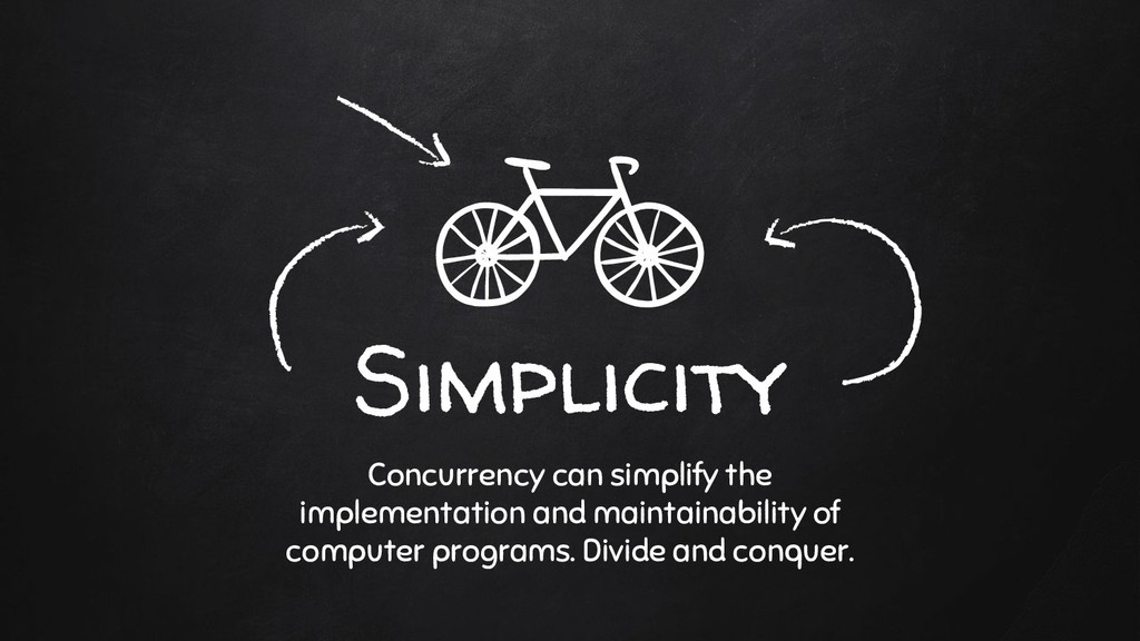 Simplicity Concurrency can simplify the impleme...