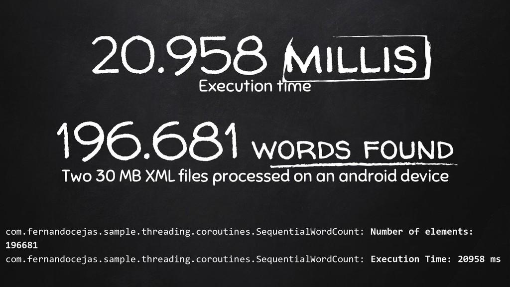20.958 millis Execution time 196.681 words foun...