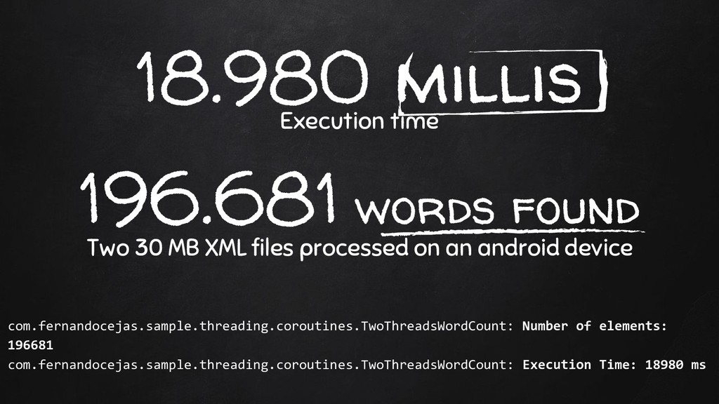 18.980 millis Execution time 196.681 words foun...