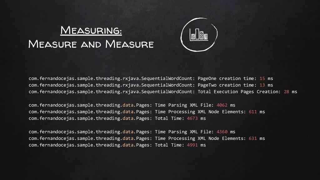 Measuring: Measure and Measure com.fernandoceja...