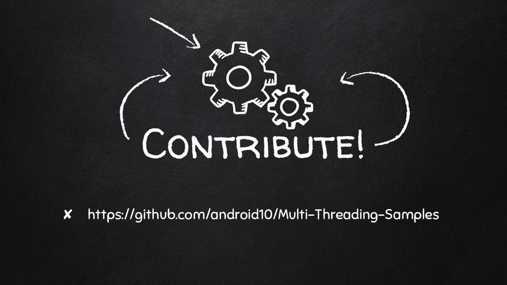 Contribute! ✘ https://github.com/android10/Mult...