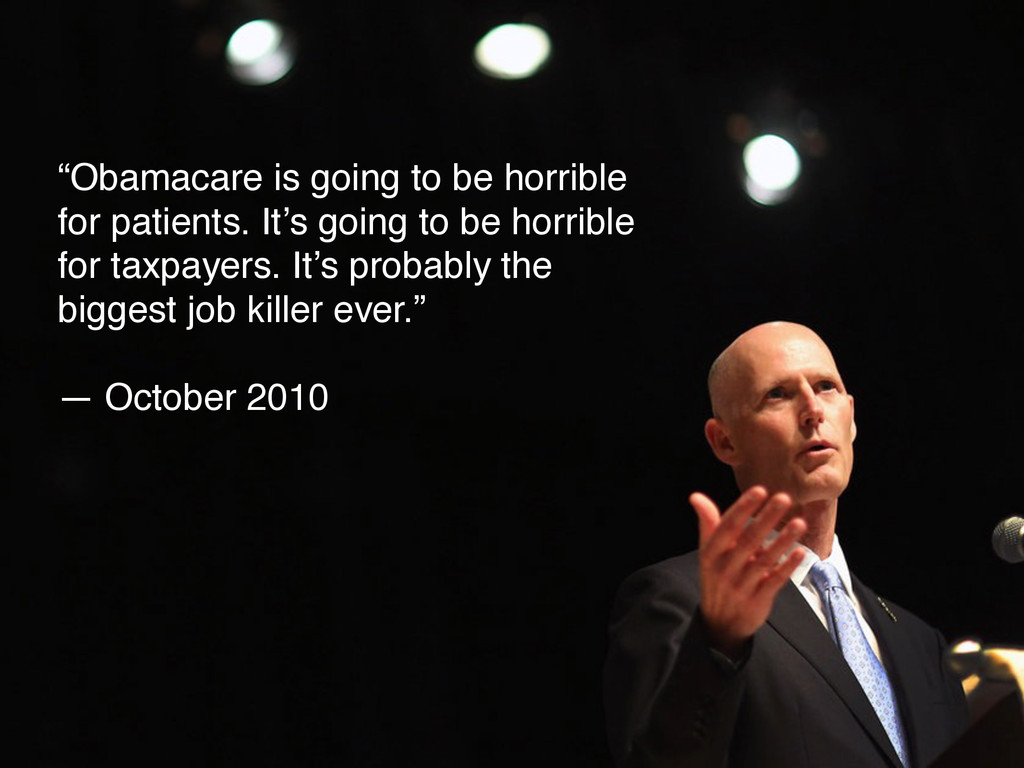 """Obamacare is going to be horrible for patients..."
