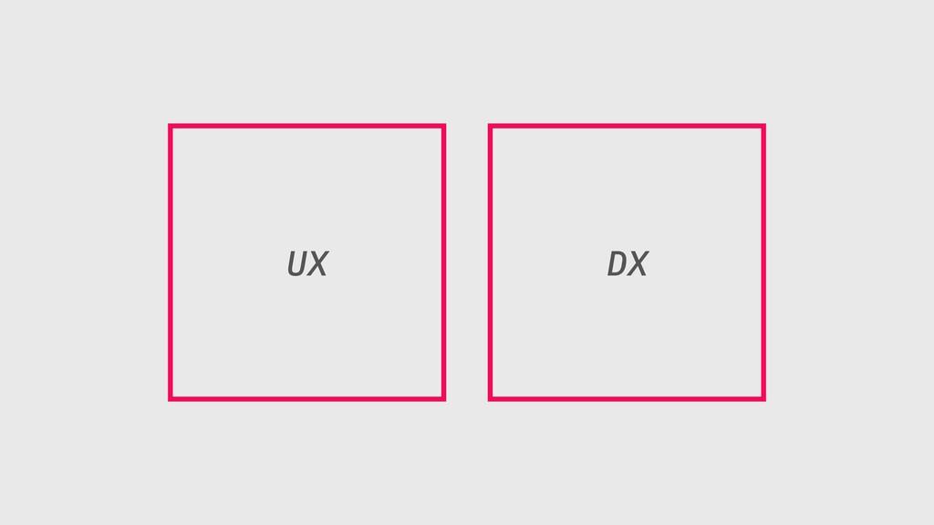 UX DX