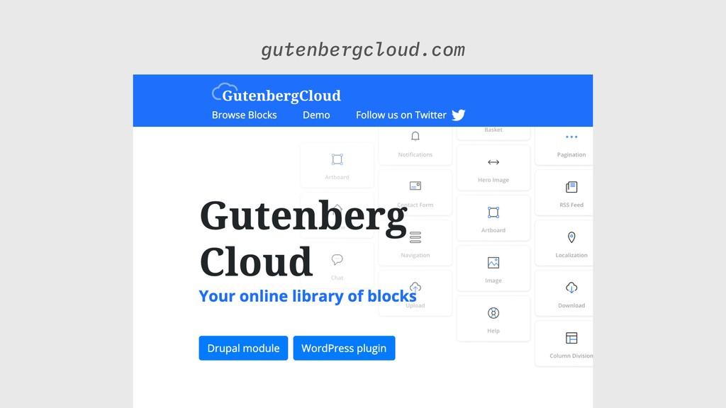 gutenbergcloud.com
