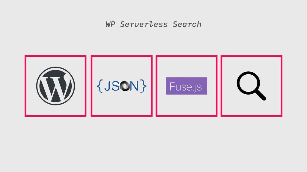 WP Serverless Search