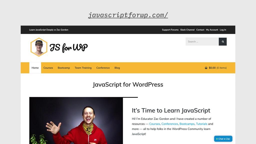 javascriptforwp.com/