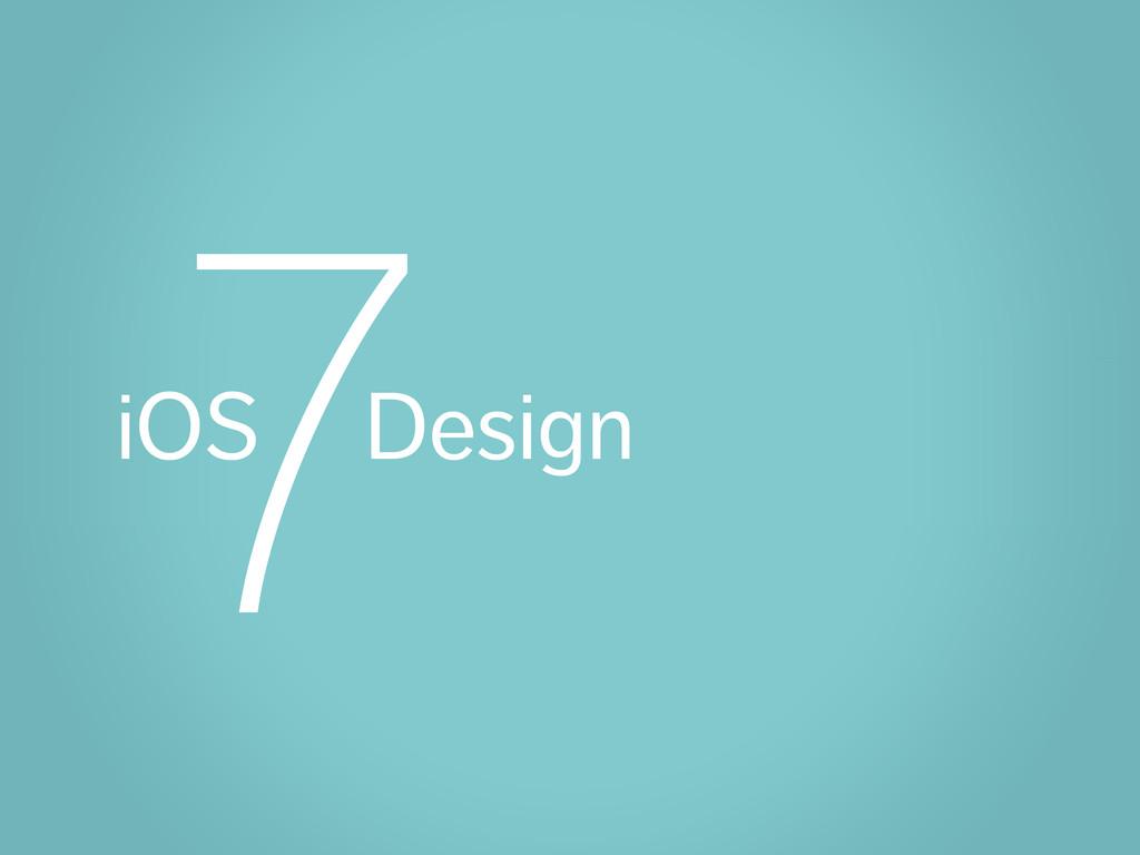 iOS Design 7