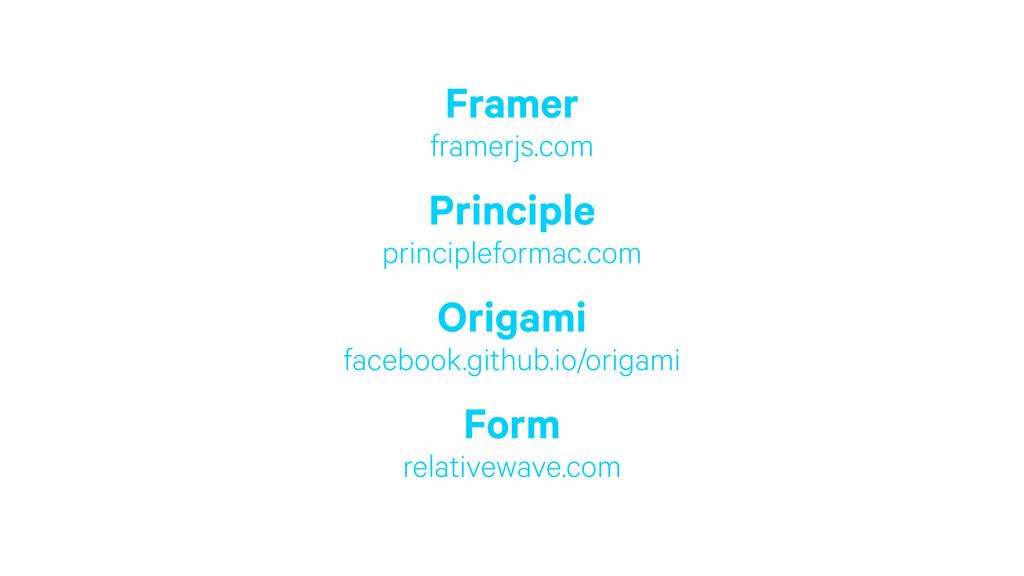 Framer framerjs.com Principle principleformac...